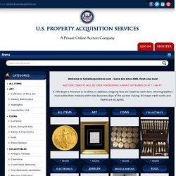 Online Auction of jewelry, coins, art, collectibles