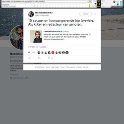 """Michiel Hendrikx on Twitter: """"15 seizoenen toonaangevende top televisie. Als kijker en redacteur van genoten.… """""""