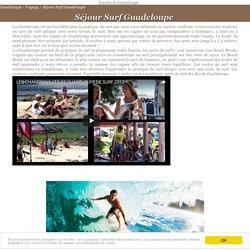 Séjour Surf Guadeloupe sur Guadeloupe.net