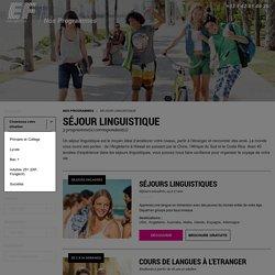 Séjour linguistiques - EF voyage linguistiques