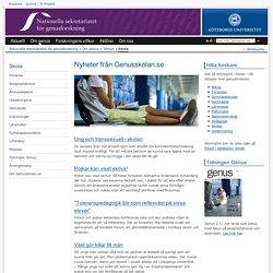 Skola - Nationella sekretariatet för genusforskning, Göteborgs universitet