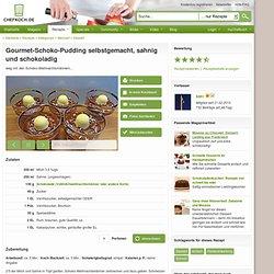 Gourmet-Schoko-Pudding selbstgemacht, sahnig und schokoladig