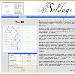 Seldage - Test D2