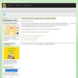 Selecció de materials multimèdia
