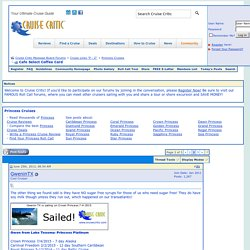 Cafe Select Coffee Card - Page 2 - Cruise Critic Message Board Forums