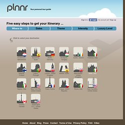 Select the destination for your trip - Plnnr.com