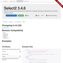 Select2 3.3.2 - Iceweasel