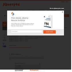 jQuery Selectbox/Drop-down Plugins