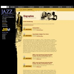 Jazz Age - Louis Armstrong