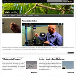 Video-a-Day » Just another WordPress site