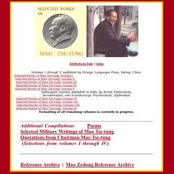 Selected Works of Mao Zedong