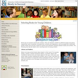 Selecting Books for Young Children - Ready to Succeed