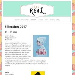 Sélection 2017 – Prix Real