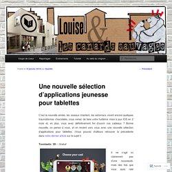 Une nouvelle sélection d'applications jeunesse pour tablettes