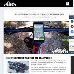 Sélection d'applis vélo pour vos smartphones
