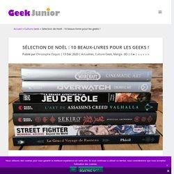Sélection de Noël : 10 beaux-livres pour les geeks