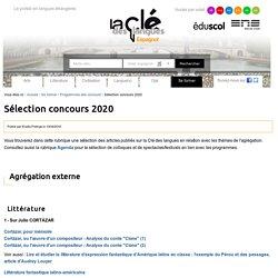Sélection concours 2020