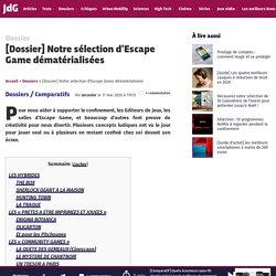 [Dossier] Notre sélection d'Escape Game dématérialisées