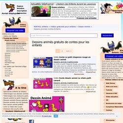 Sélection de vidéos de dessins animés de contes pour enfants.