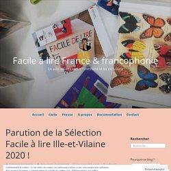 Parution de la Sélection Facile à lire Ille-et-Vilaine 2020 ! – Facile à lire France & francophonie