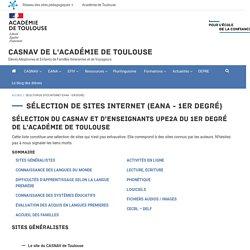 Sélection de sites internet (EANA - 1er degré)
