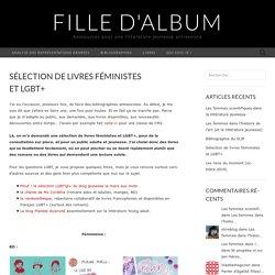 Sélection de livres féministes et LGBT+