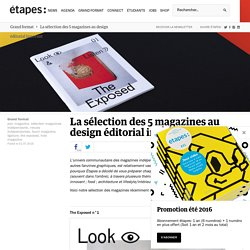 La sélection des 5 magazines au design éditorial innovant