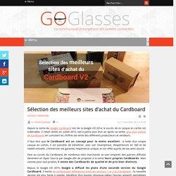 Sélection des meilleurs sites d'achat du Cardboard