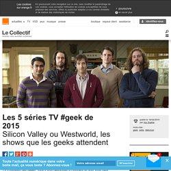 Sélection meilleurs séries TV #geek de 2015