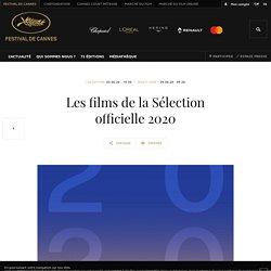 Les films de la Sélection officielle 2020 - Festival de Cannes