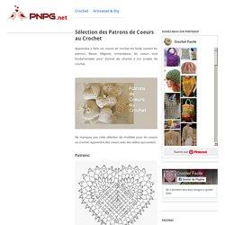 Sélection des Patrons de Coeurs au Crochet
