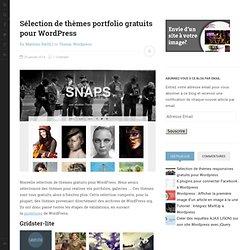 Sélection de thèmes portfolio gratuits pour WordPress - Kune.fr