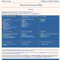 Ressources EBM (ULg)