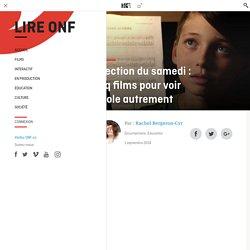 Sélection du samedi : cinq films pour voir l'école autrement - Lire ONF