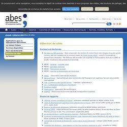 ABES- Thèses