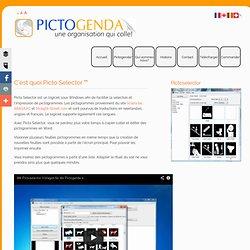C'est quoi Picto Selector™- Sclera.be, ARASAAC et Straight-Street.com