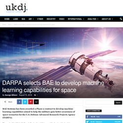 DARPA selects BAE to develop machine learning capabilities for space