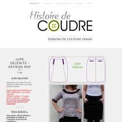 Jupe Sélénite - Patron PDF / Histoire de Coudre