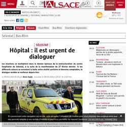 Hôpital : il est urgent de dialoguer
