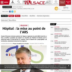 Hôpital : la mise au point de l'ARS