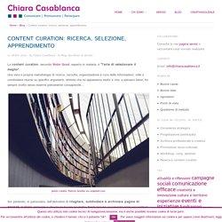 Content curation: ricerca, selezione, apprendimento