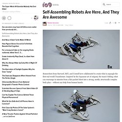 Self-Assembling Robots Are Here, And They Are Awesome