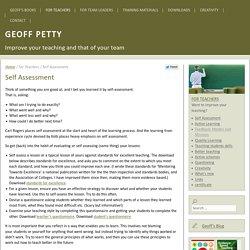 Geoff Petty - Teaching Today