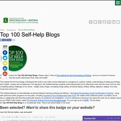 Top 100 Self-Help Blogs - Psychology Of EatingPsychology Of Eating