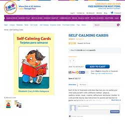 Self Calming Cards [GB2157] - $12.99 : Special Needs Toys