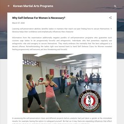 Why Self Defense For Women is Necessary?
