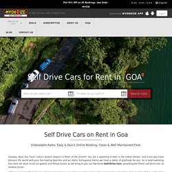 Self Drive Cars for Rent in Goa - MyChoize