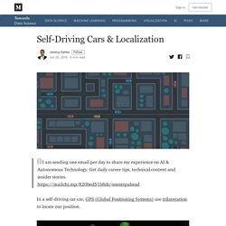 Self-Driving Cars & Localization