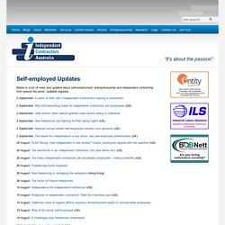 Self-employed Updates