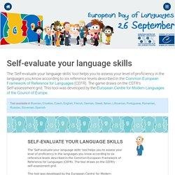Fun > Self-evaluate your language skills!